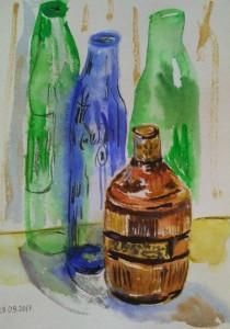 Бутылки пустые